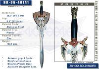 Ashoka Gold Sword