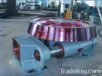 Hydraulic blocking wheel
