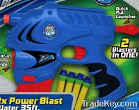 X-2Blaster with suction bullets