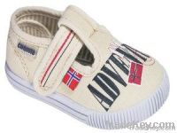 Toddler boy casual canvas shoe