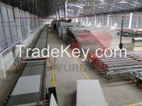 Automatic Gypsum Board Manufacturing Machine