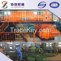 Red clay brick machine