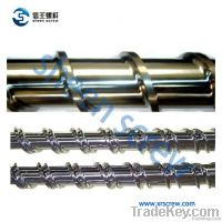 plastic extruder single screw barrel/screw and barrel/cylinder/screws