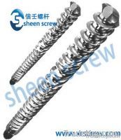 cold feed/col-feeding screw and barrel/cylinder  for rubber machine