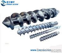 Hot feed screw and barrel/screw and cylinder for rubber machine