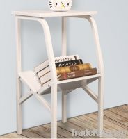Wooden Bookcase Showing Stand Showing Shelf
