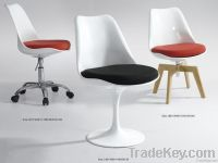 Modern Plastic Chair with Cushion