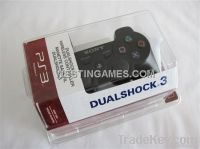 Dual Shock 3 Wireless Bluetooth SIXAXIS Controller Black for PS3 V3.7