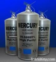 High Quality Silver Mercury HG 99.999% for sale