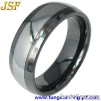 Combind Tungsten Rings Tungsten and Ceramic