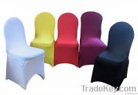 Spandex chair cover for banquet, wedding and hotel, restaurant use