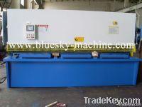NC hydraulic swing beam shearer HSSK-16X3200