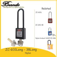 38mm Shackle Plastic Safety Padlock With Master keys, Security Padlock