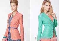 Women's fashional lace coats and lace Western-style clothes