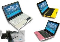 Win7/XP,10.1 Inch 1024*600 Laptop,D2500 Dual Core CPU 1.8g+2g DDR3+250g HD,Bluetooth