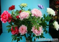 articificial peony flowers