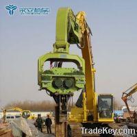 Excavator hydraulic hammer V-350C Sheet pile hammer