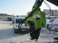 Excavator hydraulic hammer V-400C Sheet pile hammer
