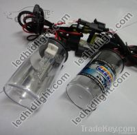 auto HID H4/H 8000K xenon bulbs with halogen lamp for replacement