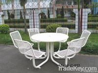 outdoor table set, outdoor metal furniture
