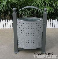 metal dustbins for outdoor spaces