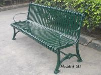 cast iron bench, metal bench from China