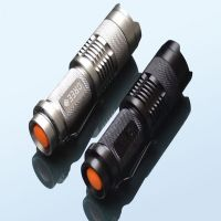 Super Bright Zoomable Cree R2 Led Torch Aluminum