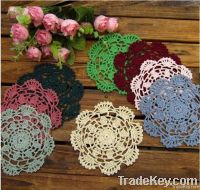 crochet coasters/ cup mat/ doily