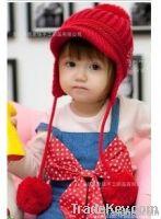 Handmade Cotton Crochet Hat Cap Beanie Baby Mixed Style
