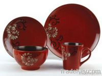 16pcs ceramic dinnerware with hand painting