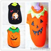 custom made Pet Dog Halloween Clothing, pet festival clothes