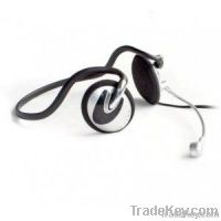 Ear-hook style headset with in-line microphone