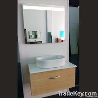 stainless steel cabinet with led mirror