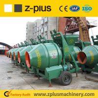 New arrival JZC350 self reverse drum concrete mixer
