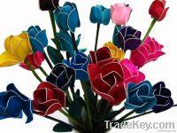 Praewa silk flower decoration