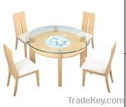 modern glass dining tableD881