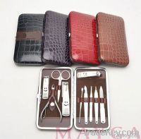 Deluxe PU S/S Manicure Set