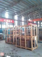 Copper chute, rolled copper plate chute, machined copper chute for Titanium Refining pool