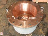 Copper crystallizer,copper mould for copper Ti Ni Iroin etc smelting and sapphire