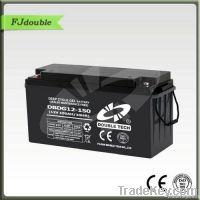 Double Tech VRLA Solar Gel Battery 12v 150ah