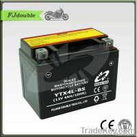 MF Sealed Lead Acid Rechargeable Motorcycle Battery YTX4L-BS(12V 4AH)