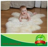Australian Sheepskin Rug Floor Carpet Sofa Cover Bed Blanket