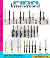 Dental Implant Drill Kit Dental irrigation Surgical Drill Kit Dental Conical Drill Kit Dental Twist Drill