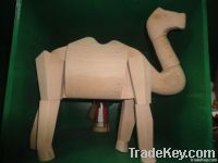 Handcrafted Wooden Animal