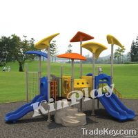 kids outdoor plastic playground slide, play equipment
