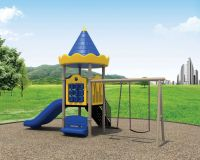 kids plastic outdoor plaground slide