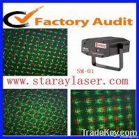 SM-01 mini red  green firefly disco laser light