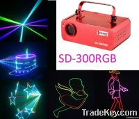 SD card support animation programmable dj disc lighting logo projector