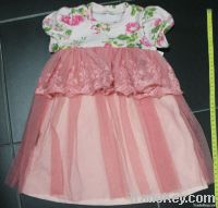 baby & children's clothes, baby birthday dress, long sleeve dress.