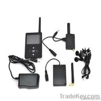 Wireless Full Duplex Paging System with Spy Camera